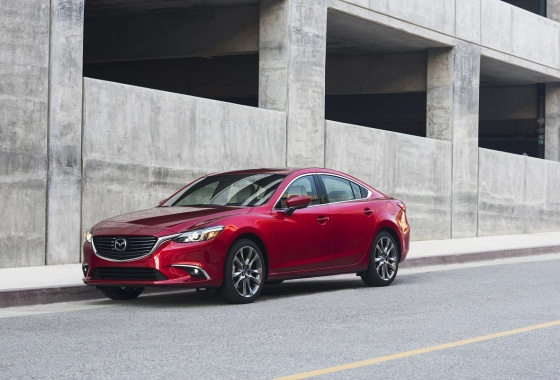 Mazda6 introduced with new Skyactiv technologies