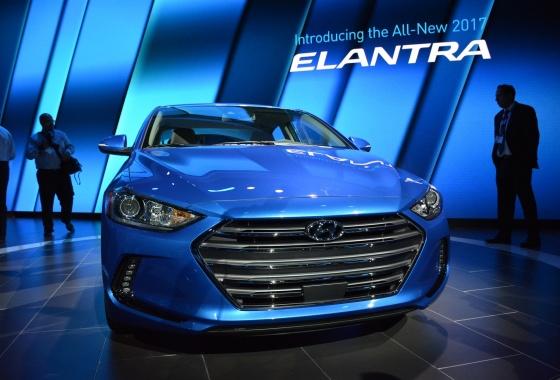 LA Auto Show: 2017 Hyundai Elantra