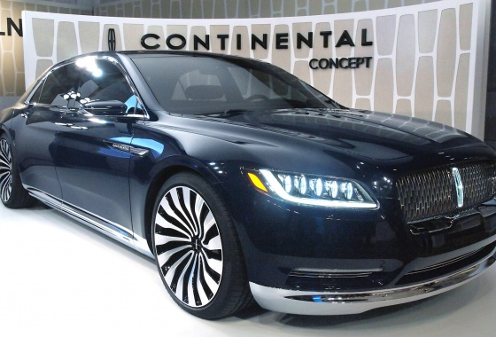 Lincoln Continental is back