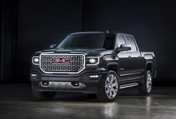 2016 GMC Sierra refreshed and unveiled