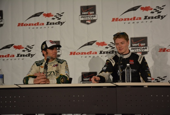 2015 Honda Indy Toronto race report: CFH Racing finish 1-2