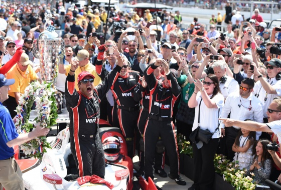 Montoya has incredible run to win the 2015 Indy 500