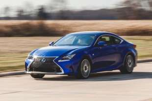 2016 Lexus RC 350 - Fuel Economy Test