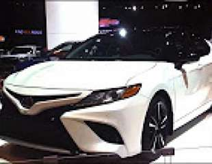 2018 Toyota Camry walkaround at CIAS