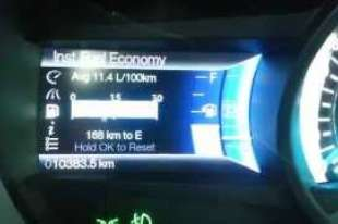 2014 Ford Fusion Fuel Economy Test