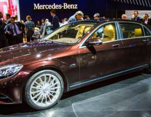 NAIAS - 2016 Mercedes Maybach S600